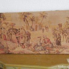 Antigüedades: TAPÍZ DE 130X45 APROX. CERCA DE 1930. Lote 136914070