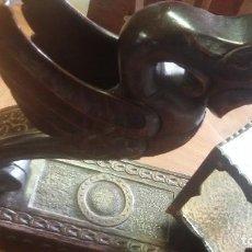 Antigüedades: LÁMPARA DE MADERA . Lote 136964718