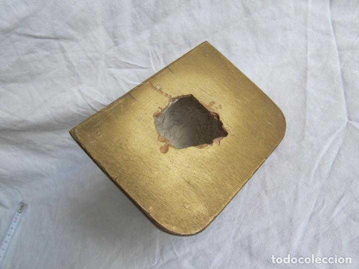 Antigüedades: Ménsula de madera y escayola - Foto 5 - 137129014