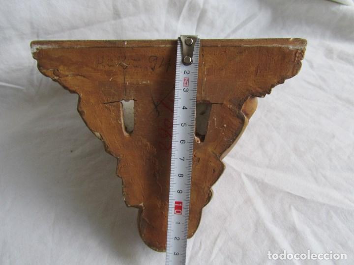 Antigüedades: Ménsula de madera y escayola - Foto 8 - 137129014