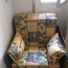 Antigüedades: SILLON ,CAMA PLEGABLE. Lote 137145710