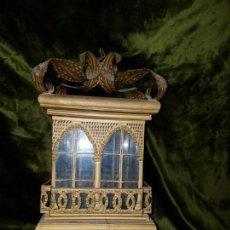 Antigüedades: FAROL DE LATA SEVILLANO DEL SIGLO XIX . Lote 137160502