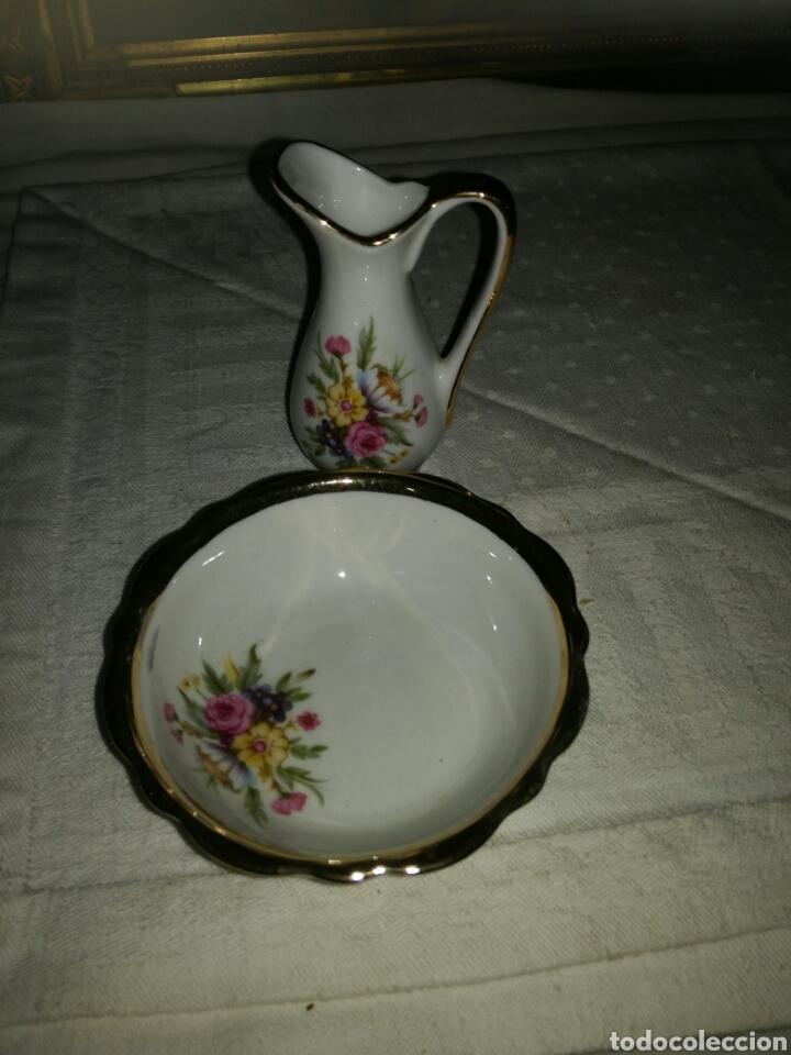 Antigüedades: Pequeño aguamanil de porcelana - Foto 2 - 137161434
