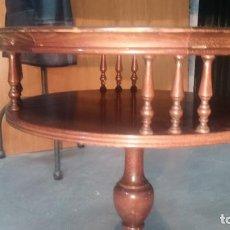 Antigüedades - Botita mesa antigua auxiliar para teléfono, para té.. etc - 137175886
