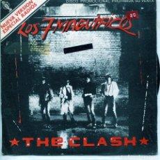 Discos de vinilo: THE CLASH / LOS SIETE MAGNIFICOS / THE MAGNIFICENT DANCE (SINGLE PROMO LABEL BLANCO 1980). Lote 137185002