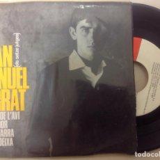 Discos de vinilo: JOAN MANUEL SERRAT -LA MORT DE L'AVI -EP 1965 -PEDIDO MINIMO 3 EUROS. Lote 137185910