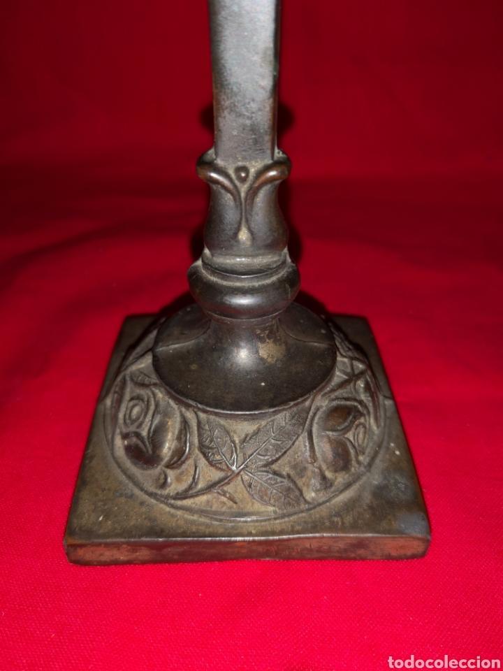 Antigüedades: CRUCIFIJO DE SOBRE MESA - Foto 3 - 137198261