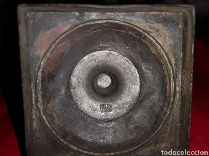 Antigüedades: CRUCIFIJO DE SOBRE MESA - Foto 5 - 137198261
