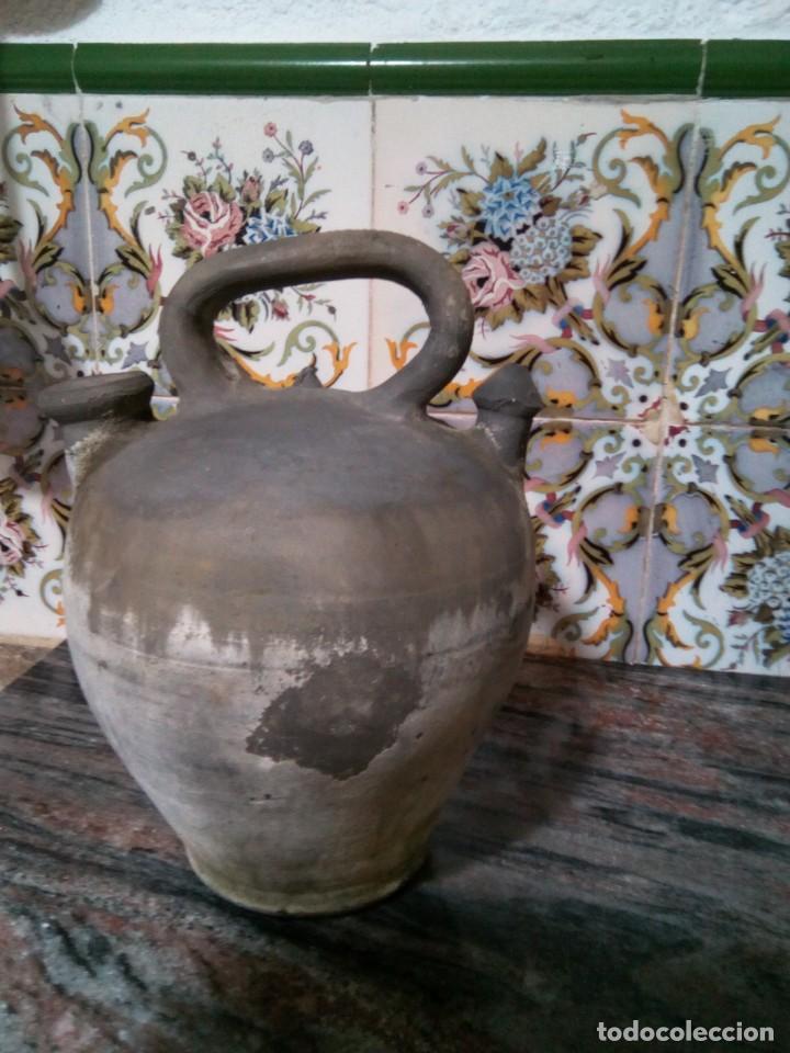 Antigüedades: *ANTIGUO CÁNTARO o BOTIJO J..CORNELLÁ. - LA BISBAL 28 CM. (RF:B/a*) - Foto 4 - 137211090