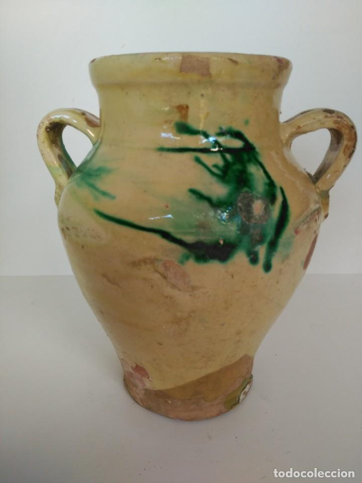 ORZA O PUCHERO DE CERÁMICA POPULAR DE ÚBEDA (JAÉN) (Antigüedades - Porcelanas y Cerámicas - Úbeda)
