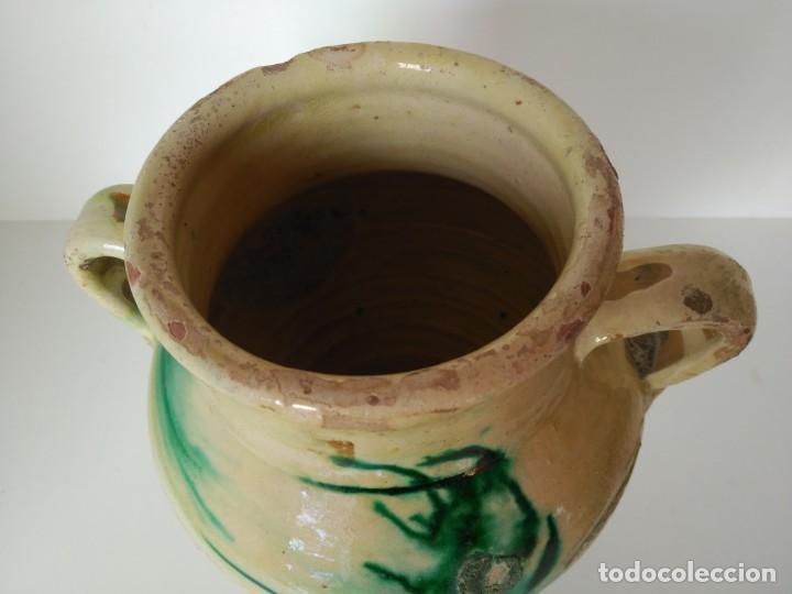 Antigüedades: Orza o puchero de cerámica popular de Úbeda (Jaén) - Foto 2 - 137214622
