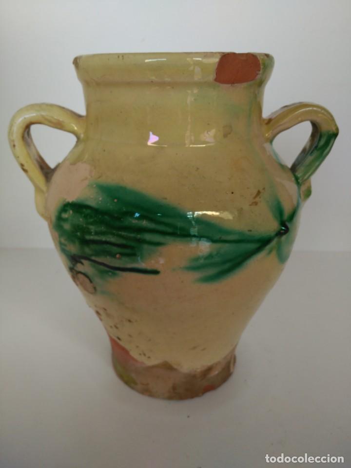 Antigüedades: Orza o puchero de cerámica popular de Úbeda (Jaén) - Foto 3 - 137214622