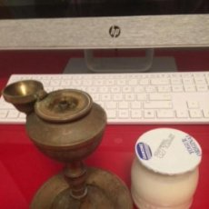 Antigüedades: ANTIGUA LÁMPARA DE ACEITE(CAPUCHINA). Lote 134077022