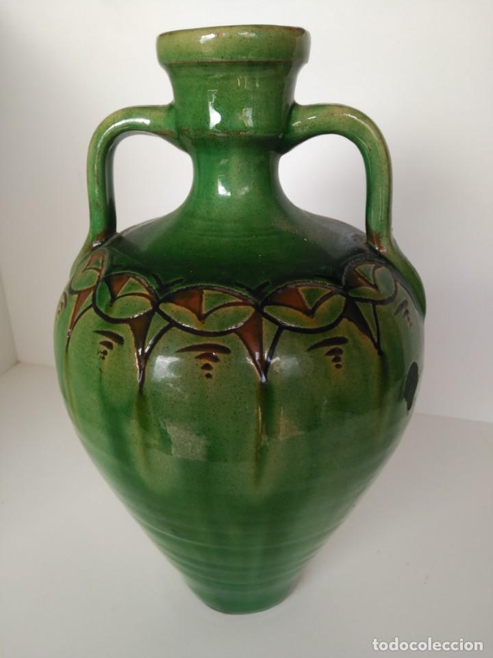CANTARO DE CERÁMICA VIDRIADA DE ÚBEDA (JAÉN) (Antigüedades - Porcelanas y Cerámicas - Úbeda)