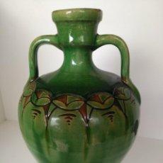 Antigüedades: CANTARO DE CERÁMICA VIDRIADA DE ÚBEDA (JAÉN). Lote 137218550