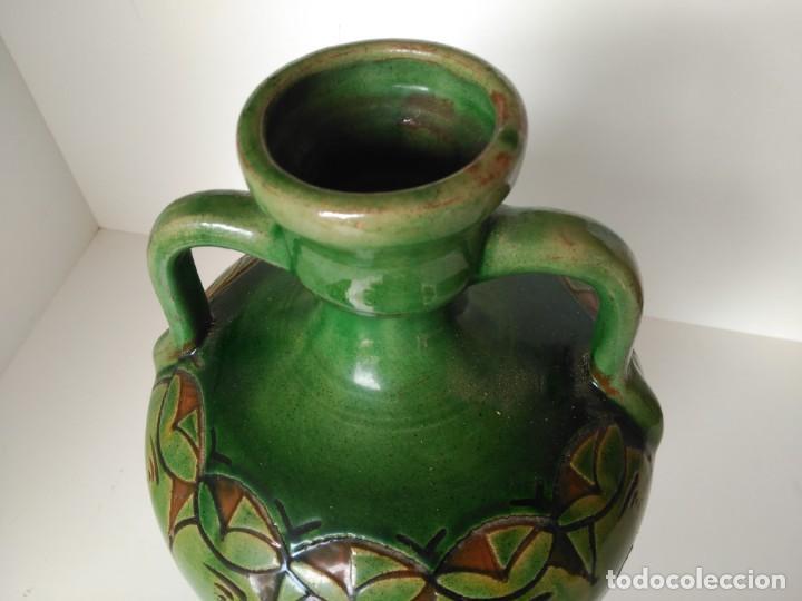 Antigüedades: Cantaro de cerámica vidriada de Úbeda (Jaén) - Foto 2 - 137218550