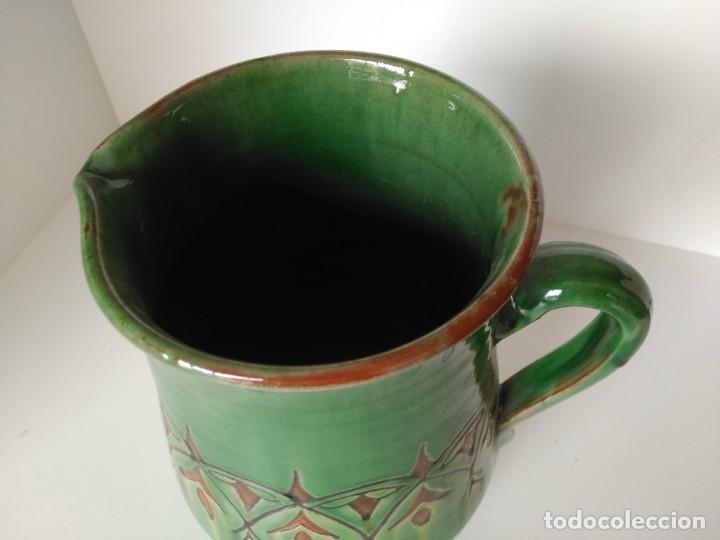 Antigüedades: Jarro de cerámica vidriada de Úbeda (Jaén) - Foto 2 - 137218642