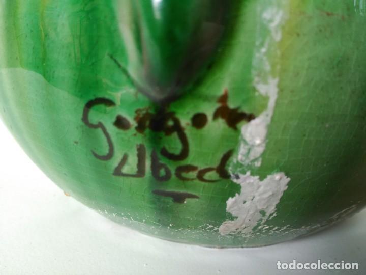 Antigüedades: Jarro de cerámica vidriada de Úbeda (Jaén) - Foto 4 - 137218642