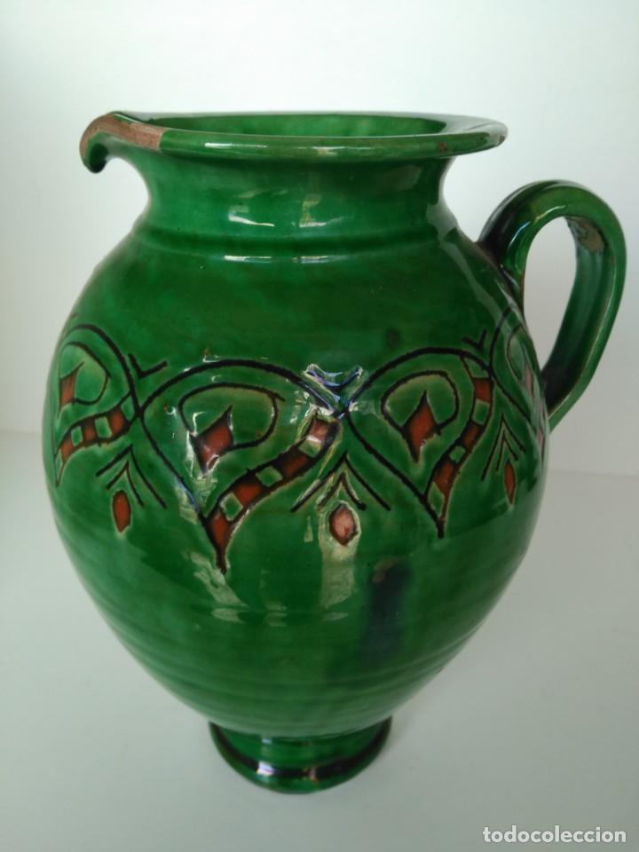 JARRO DE CERÁMICA VIDRIADA DE ÚBEDA (JAÉN) (Antigüedades - Porcelanas y Cerámicas - Úbeda)