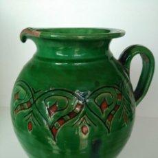 Antigüedades: JARRO DE CERÁMICA VIDRIADA DE ÚBEDA (JAÉN). Lote 137218810