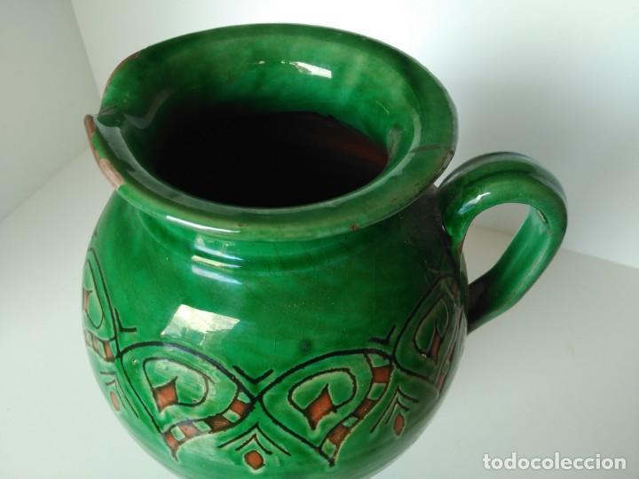 Antigüedades: Jarro de cerámica vidriada de Úbeda (Jaén) - Foto 2 - 137218810
