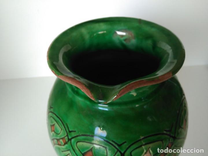 Antigüedades: Jarro de cerámica vidriada de Úbeda (Jaén) - Foto 3 - 137218810