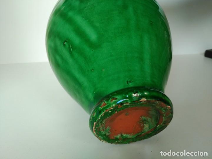 Antigüedades: Jarro de cerámica vidriada de Úbeda (Jaén) - Foto 4 - 137218810