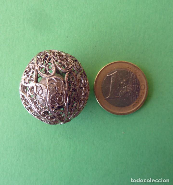 CASCABEL DE PLATA (Antigüedades - Platería - Plata de Ley Antigua)