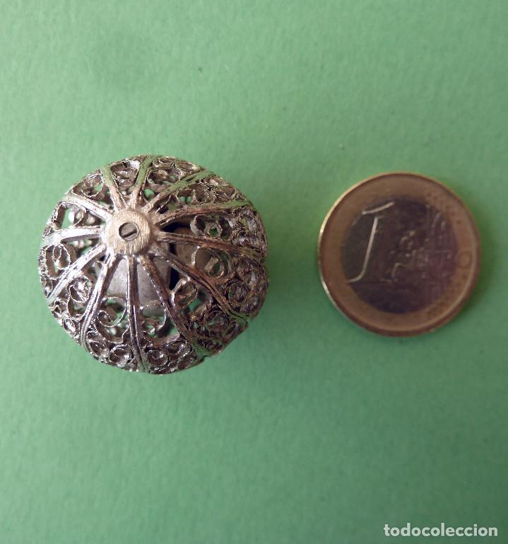 Antigüedades: Cascabel de plata - Foto 2 - 137222682