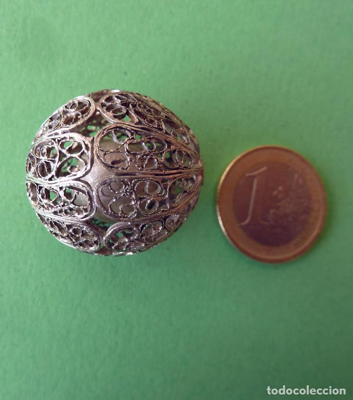 Antigüedades: Cascabel de plata - Foto 3 - 137222682
