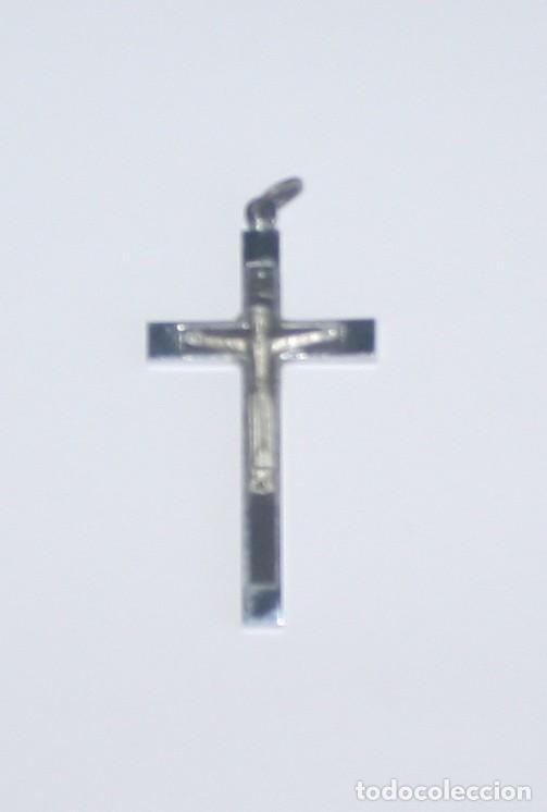 CRUZ DE PRIMERA COMUNIÓN AÑOS 60 (Antigüedades - Religiosas - Cruces Antiguas)