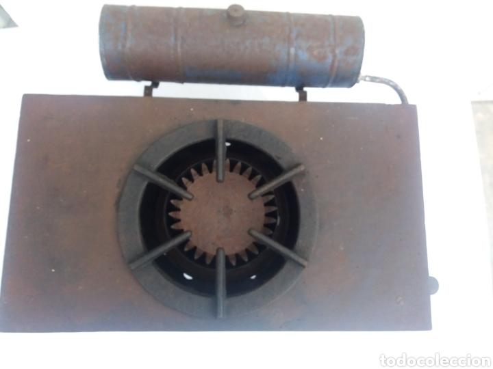 Antiquitäten: Antigua cocina completa hornillo de petroleo de hierro fundido igual decoracion rustica - Foto 6 - 137187429