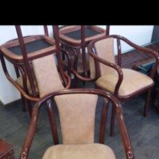 Antigüedades: JUEGO DE SILLAS. Lote 137242342