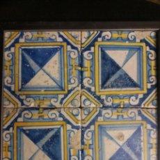 Antigüedades: AZULEJOS VALENCIANOS DE SIGLO XVII. Lote 137277022