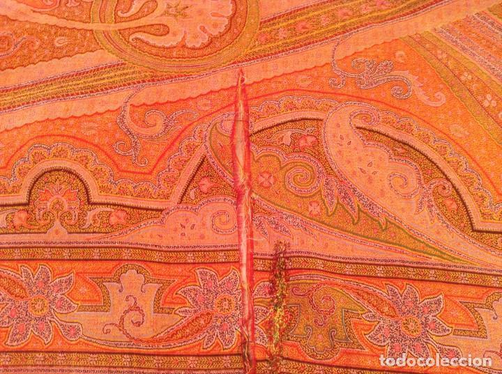 Antigüedades: ANTIGUO MANTON DE 8 PUNTAS - Foto 3 - 137287878