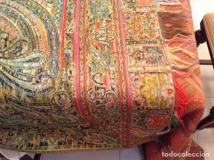Antigüedades: ANTIGUO MANTON DE 8 PUNTAS - Foto 5 - 137287878