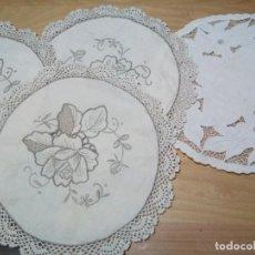 Antigüedades: *ANTIGUOS TAPETES PARA PAN. (RF: 214/B). Lote 137290430