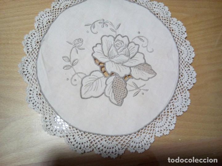Antigüedades: *ANTIGUOS TAPETES PARA PAN. (RF: 214/b) - Foto 4 - 137290430