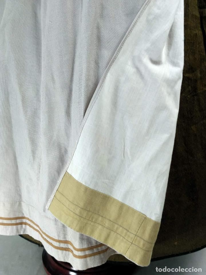 Antigüedades: Delantal de algodón antiguo - Foto 3 - 137298918