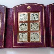 Antigüedades: VIA CRUCIS ESTACIONES. VATICANO. Lote 155737602
