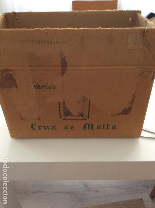Antigüedades: Cúbertería de plata de ley La cruz de Malta 116 piezas - Foto 14 - 137315654