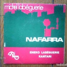 Discos de vinilo: MICHEL - ENEKO LABEGUERIE - NAFARRA OI NAFARRA + GAU ILUNA + PARISEN ETA MADRILEN . Lote 137332566