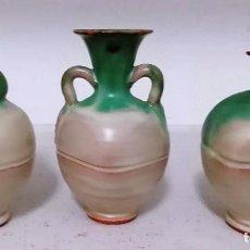 Antigüedades: LOTE 3 PIEZAS ARTESANAS DE GRES CATALAN. Lote 137366210