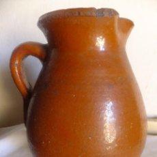 Antigüedades: JARRA ALFARERIA POPULAR ARAGONESA 30 CM VIDRIADA ( ARAGÓN). Lote 137367598