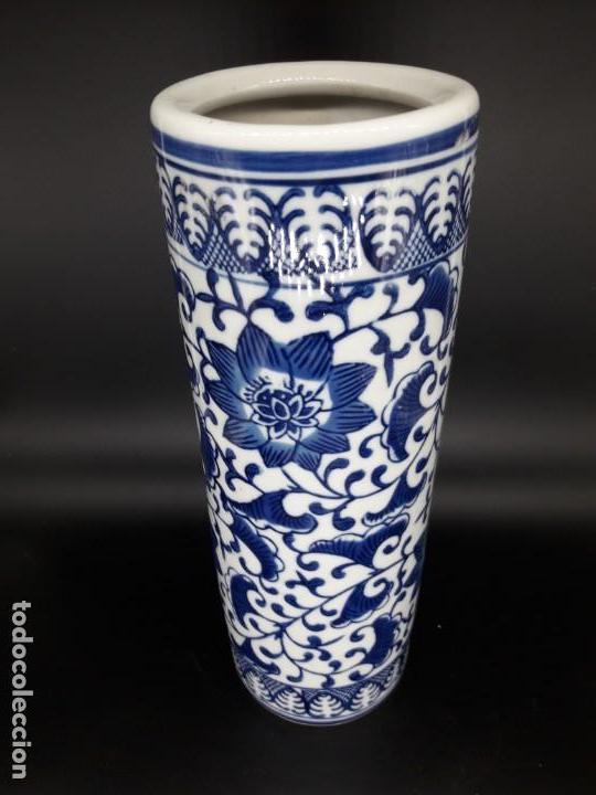 Antigüedades: Porta pinceles chino - Foto 2 - 136784826