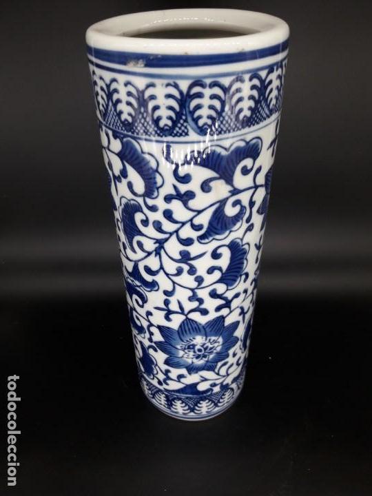Antigüedades: Porta pinceles chino - Foto 3 - 136784826