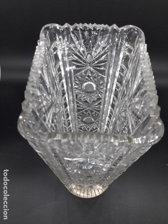 Antigüedades: Florero cristal y plata - Foto 5 - 136788602
