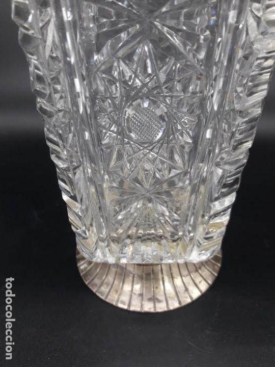 Antigüedades: Florero cristal y plata - Foto 6 - 136788602
