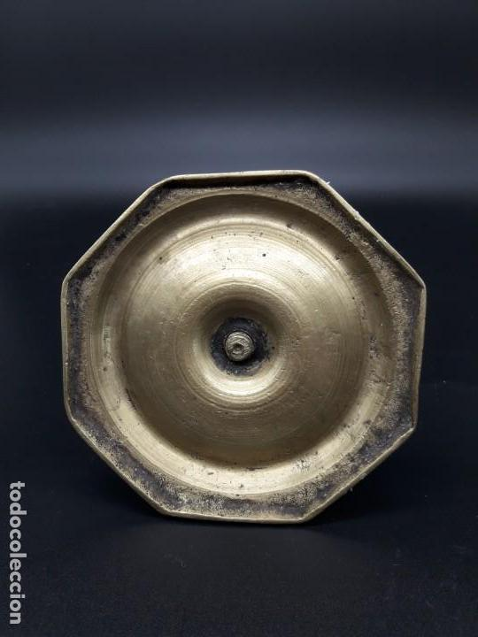 Antigüedades: Candelero torneado - Foto 4 - 136814562