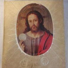 Antigüedades: SAGRADA BIBLIA ANTIGUA Y COMO NUEVA. Lote 137386306